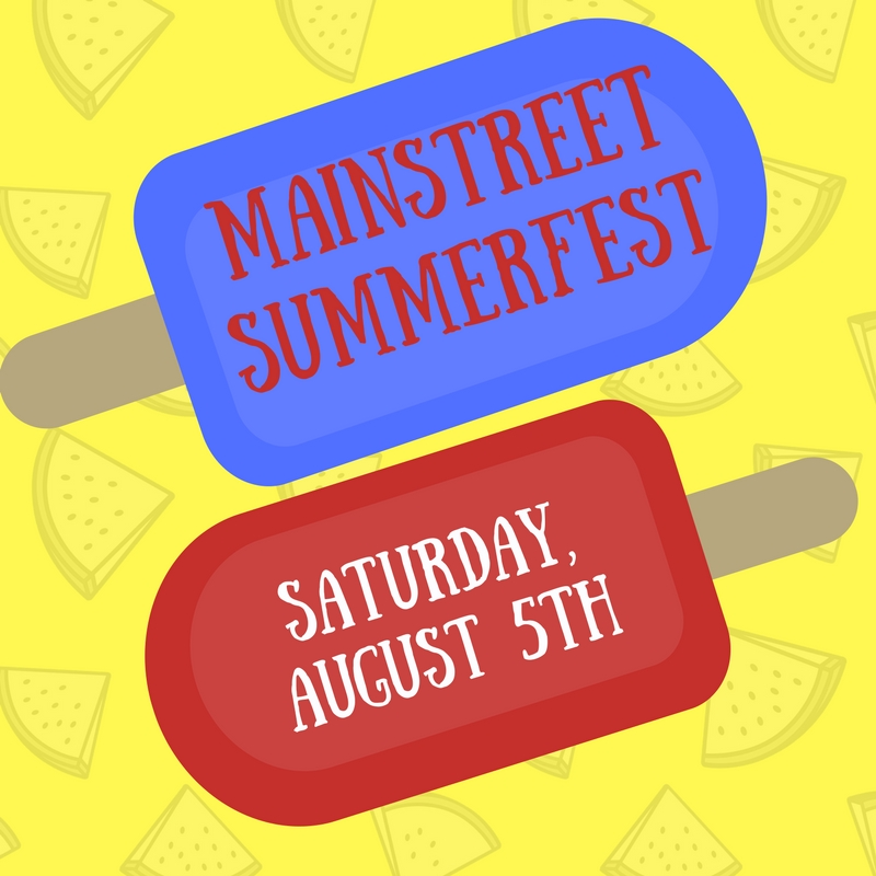 MainStreet Summerfest is August the fifth