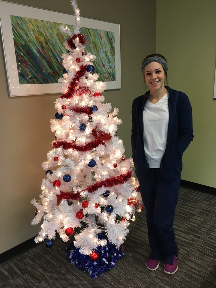 Front Desk Medical assistant by mainstreet christmas tree