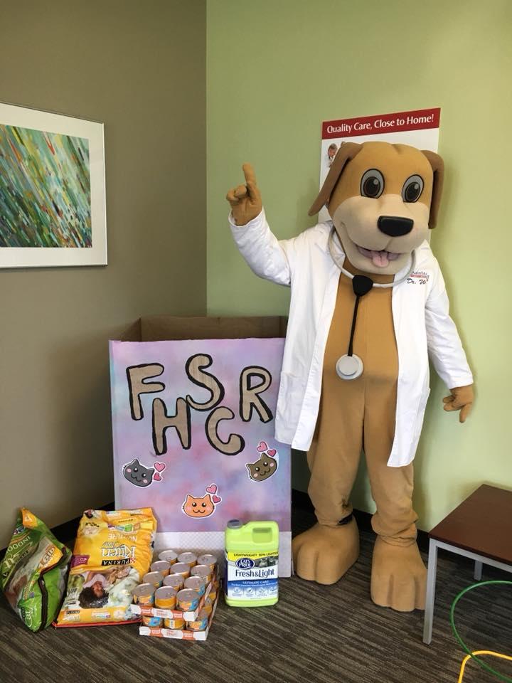 MainStreet Mascot at Fur Havens Sake Cat Rescue