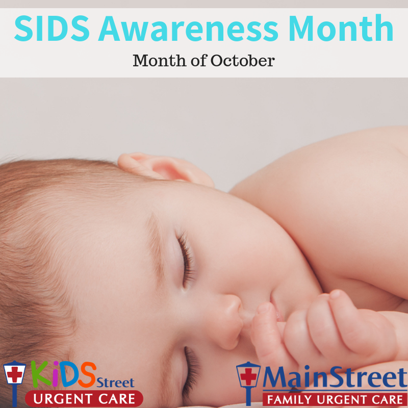 c74fb894e October is SIDS Awareness Month - MainStreet Family Care