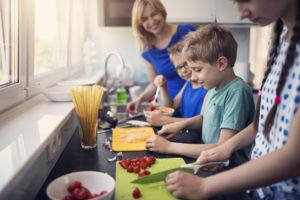 Healthy Happy Kids in the Kitchen