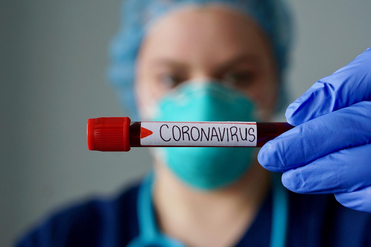 COVID-19 testing sample